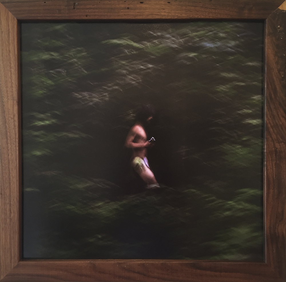 Niko - $500 – Mounted Photo w/ Handmade Black Walnut Frame