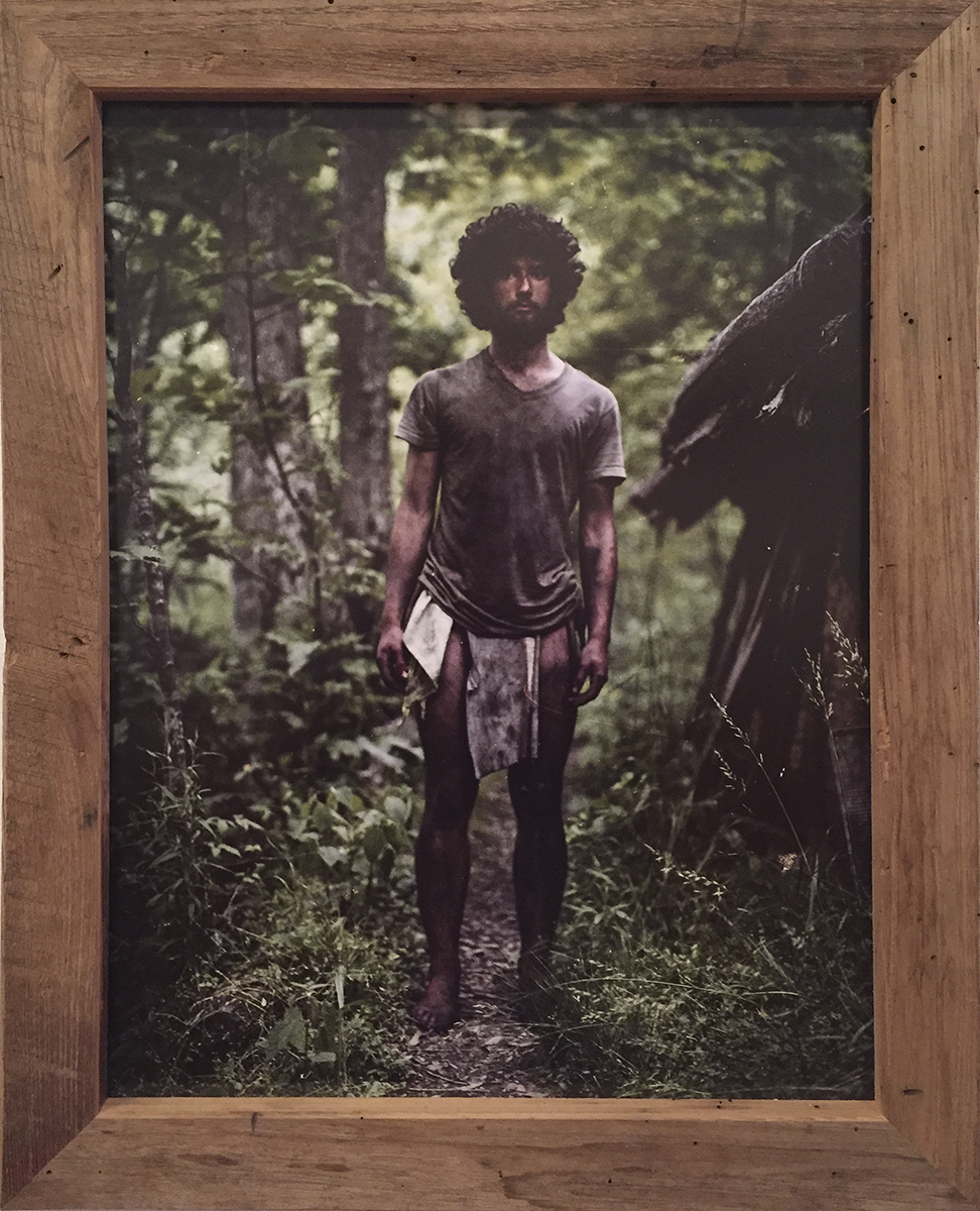 Niko Portrait - $400 – Mounted Photo w/ Handmade American Chestnut Frame