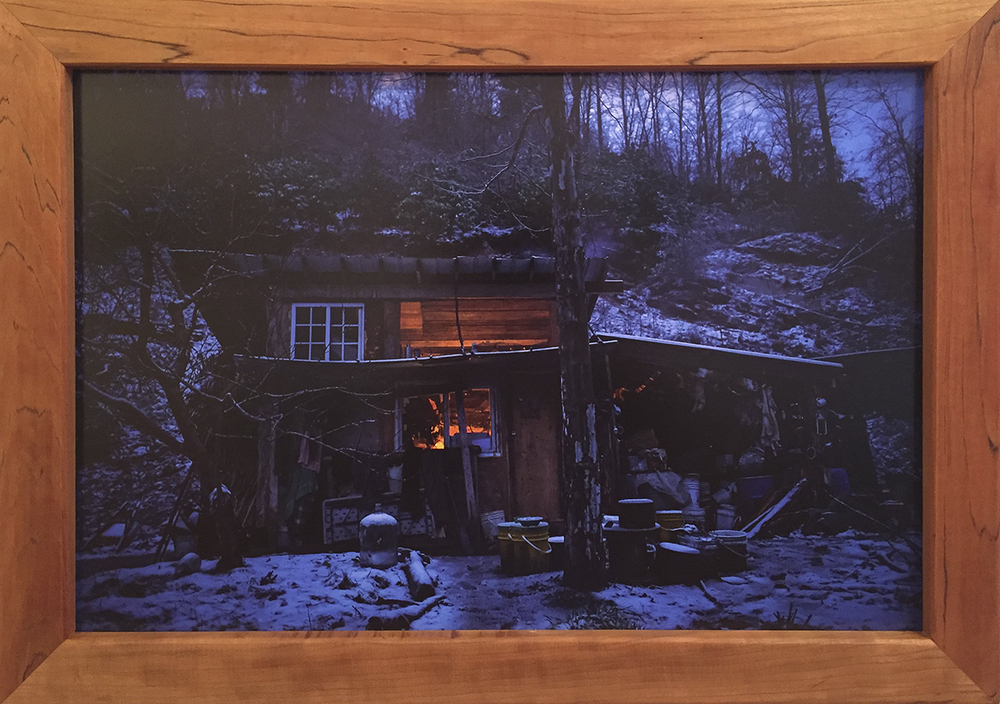 Winter In The Rat Shack - $400 – Mounted Photo w/ Handmade Black Cherry Frame