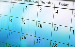 Check out the church calendar and find out what's going on.