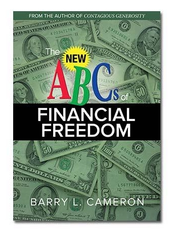 You may pick up a free copy of Barry Cameron's book in the Atrium on Sunday.
