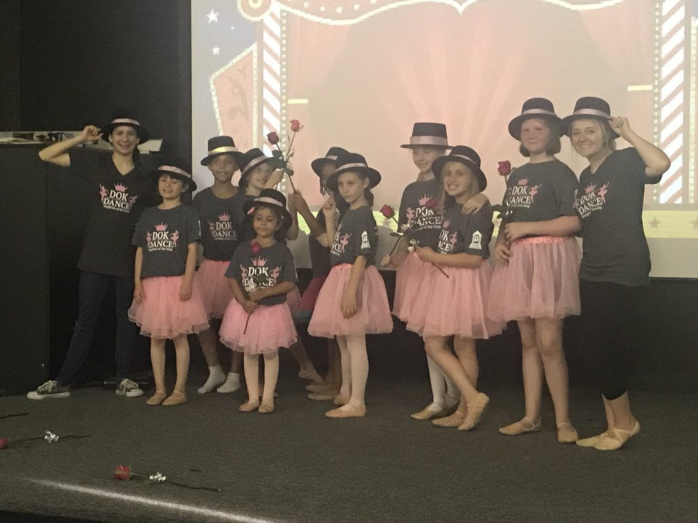 Our Daughters of the King dance class had their recital on May 22. They did such a great job, and there wasn't an empty chair in the audience. The picture below was taken after their performance.
