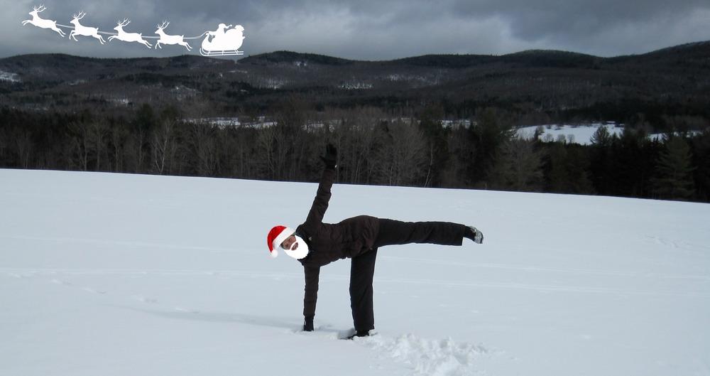 Santa! Wait for me!
