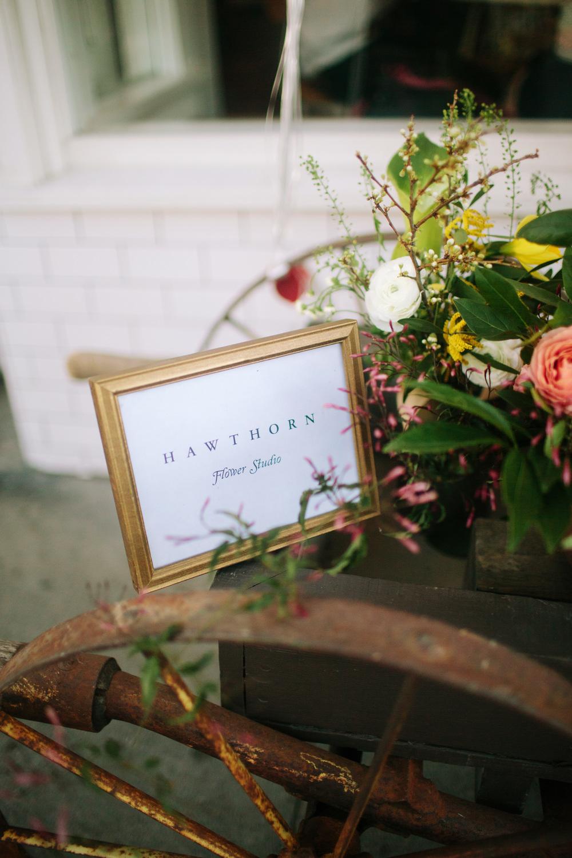 Hawthorn Flower Studio www.hawthornflowers.com