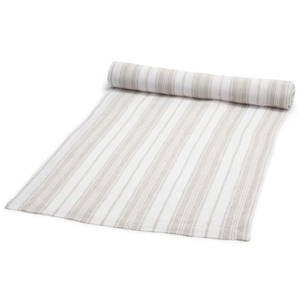 7. Linen Table Runner