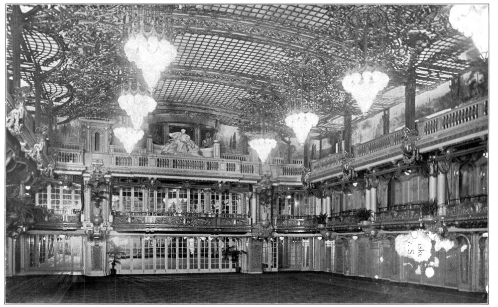 The ballroom of the Astor