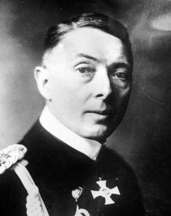 Rear Admiral Paul von Hintze