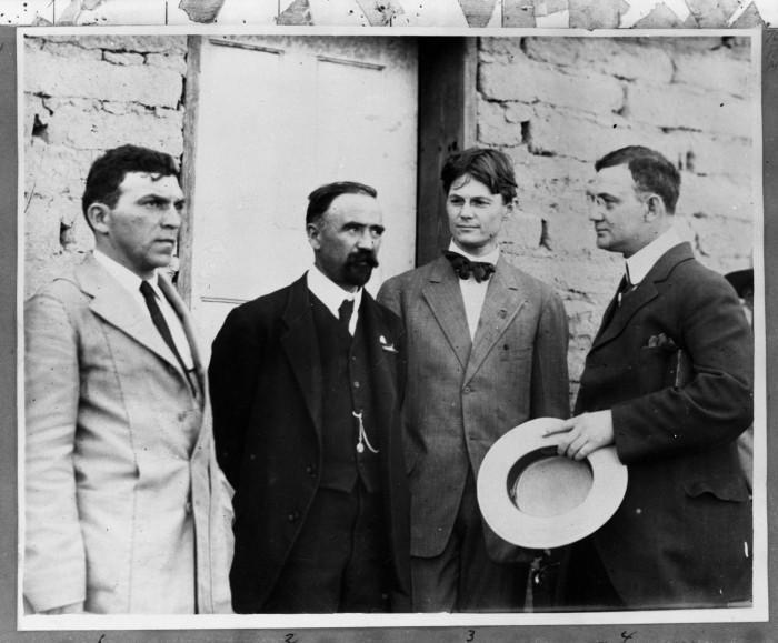 Felix A. Sommerfeld y Francisco I. Madero en 1911