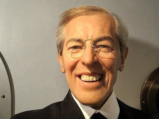 Woodrow Wilson, as depicted by Madame Tussaud's