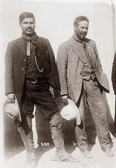 Pancho Villa and Rodolfo Fierro