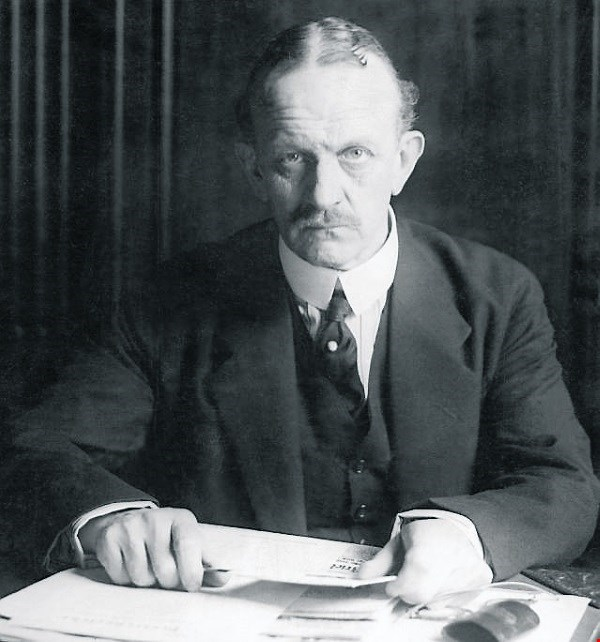 German Ambassador to the United States Johann Heinrich Count von Bernstorff in 1916