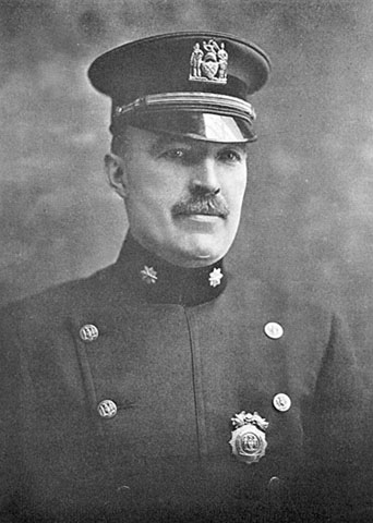 Thomas J. Tunney, head of New York's bomb squad