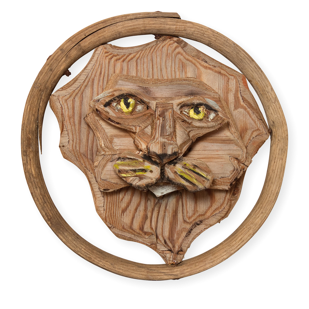 Lion Head in Hoop