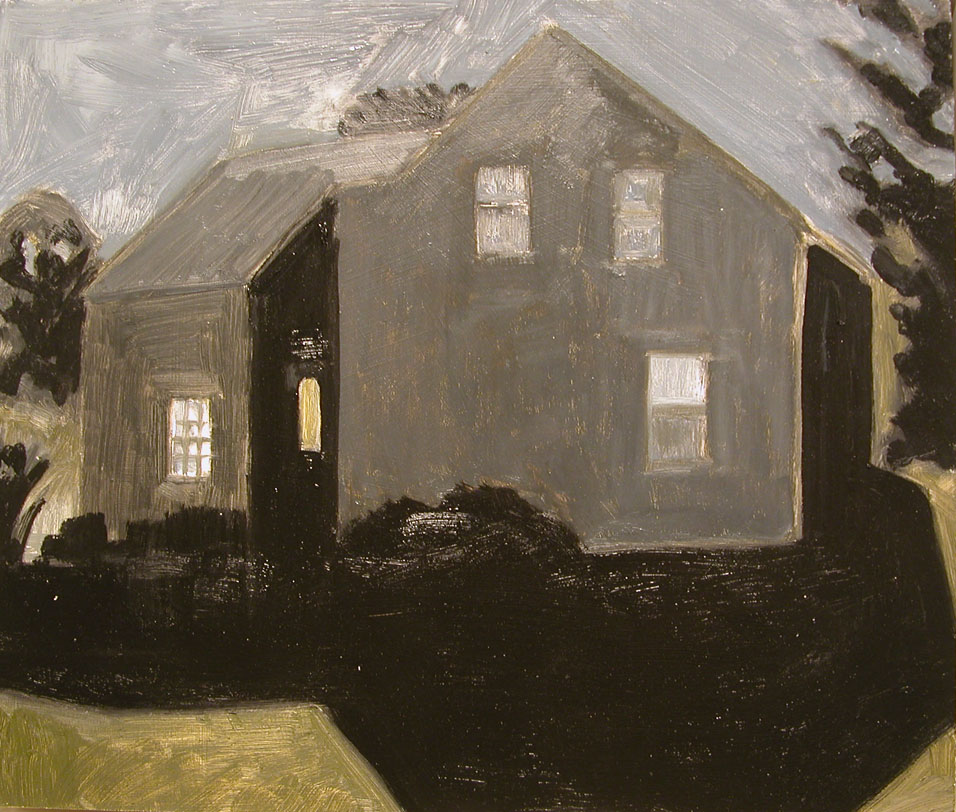 House in Moonlight