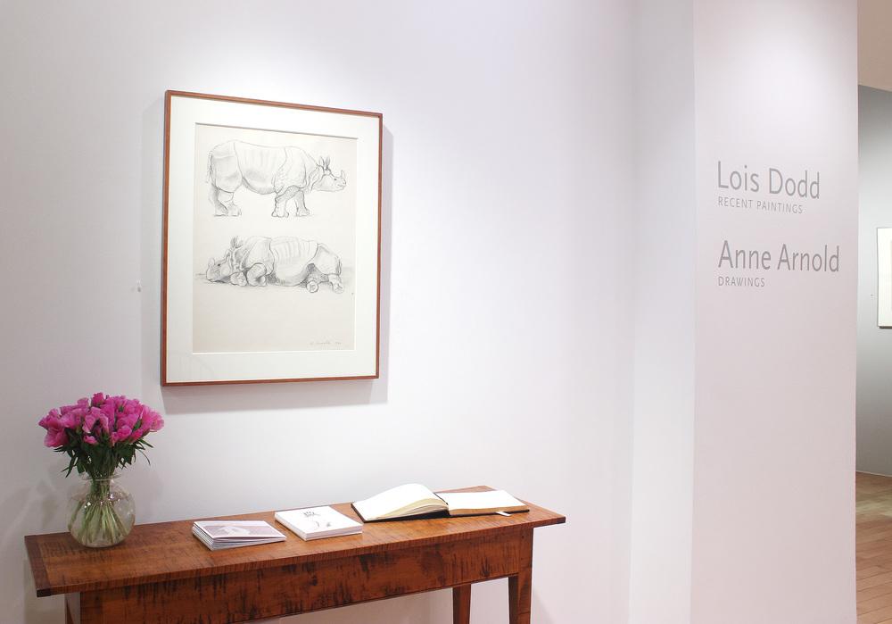 Lois Dodd • Anne Arnold