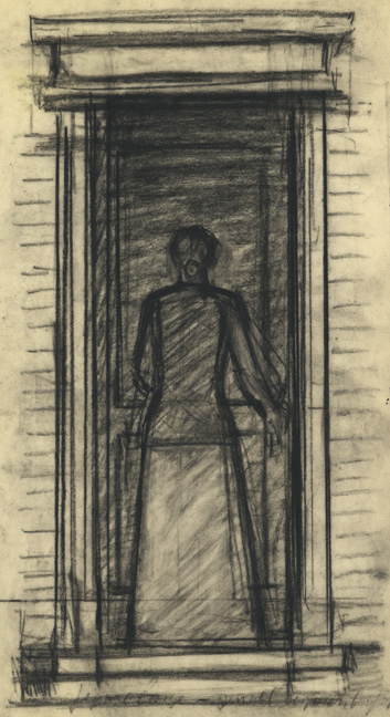 Untitled (Woman in Doorway)
