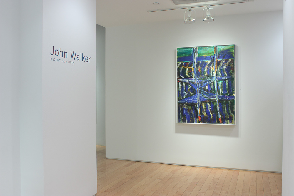 John Walker: Recent Paintings