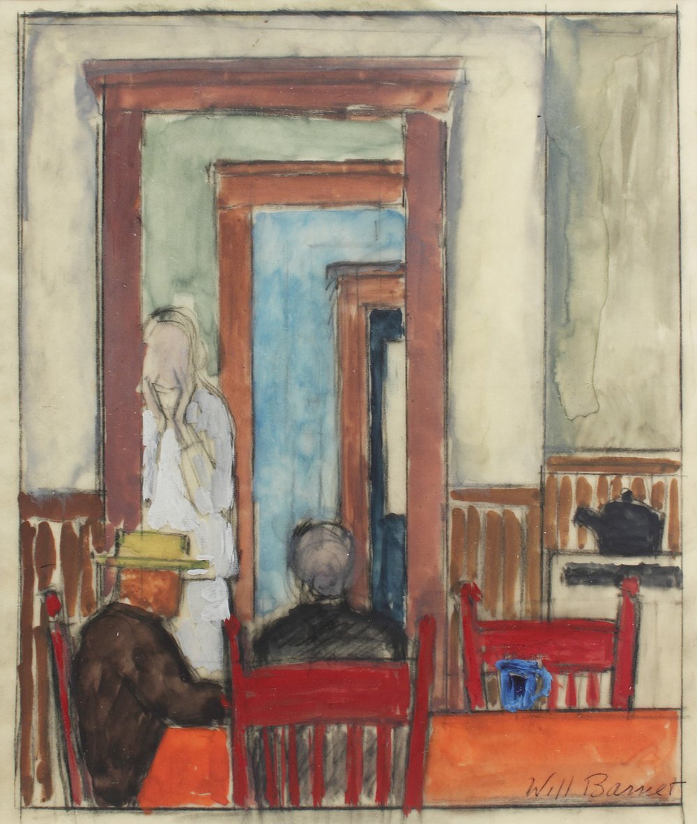 Study for The Kitchen