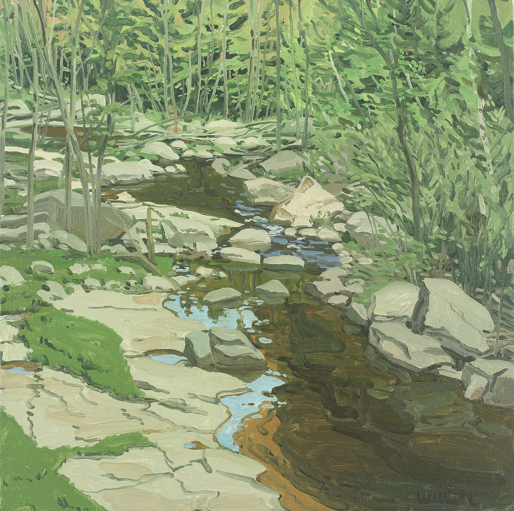 Study for Spring Brook