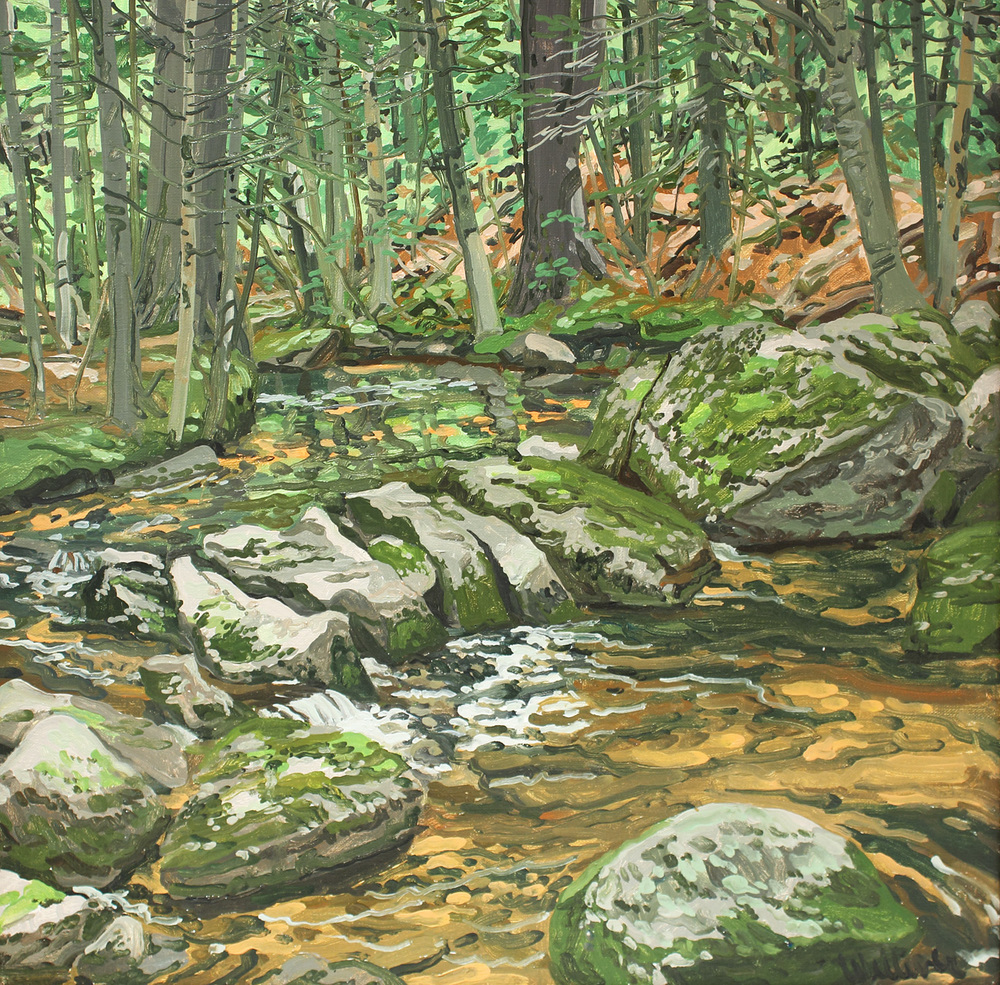 Study for Orange Brook
