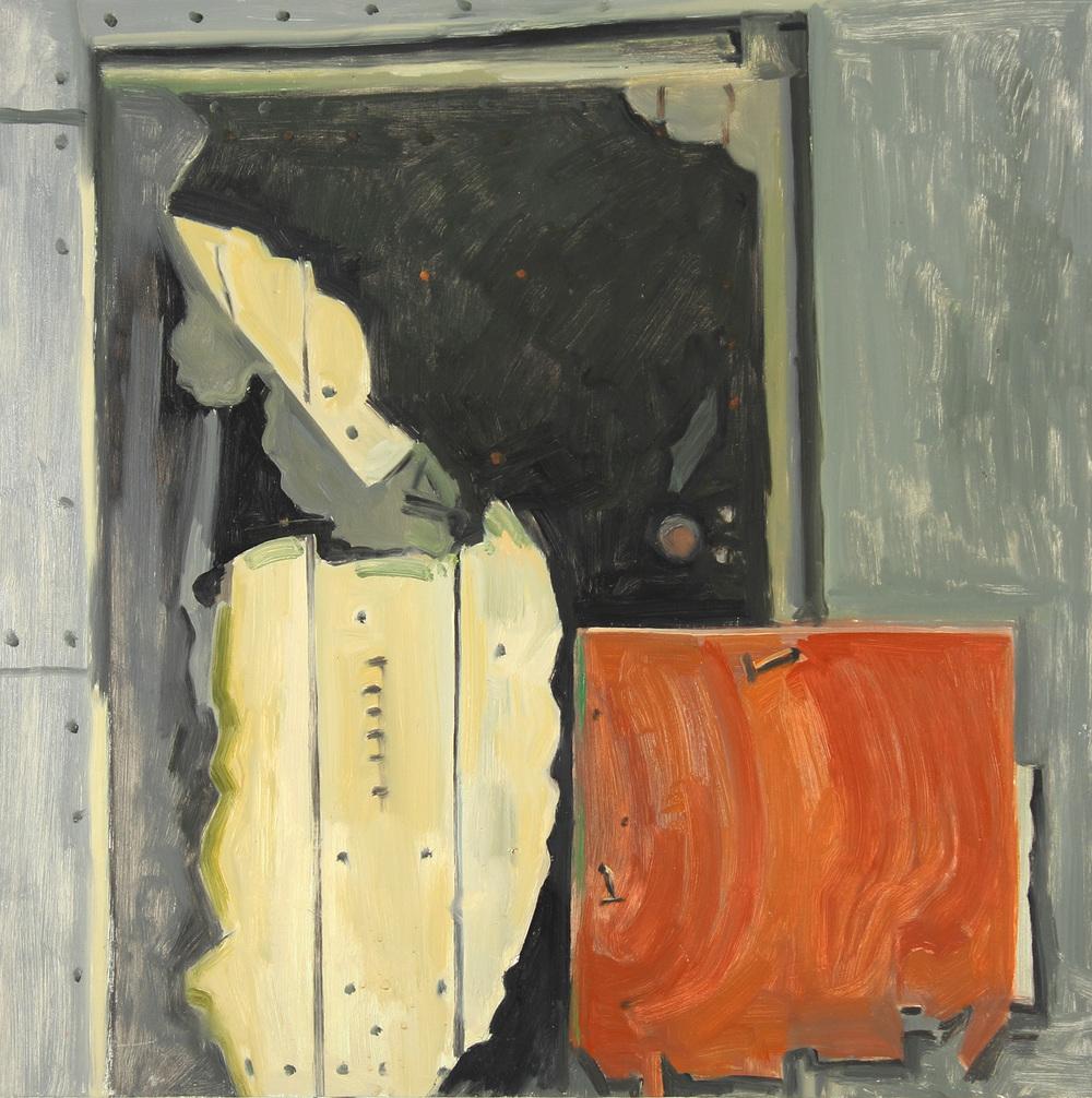 Peeling Door