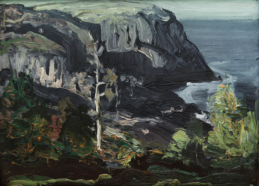 Ocean Headland, Black Head Monhegan