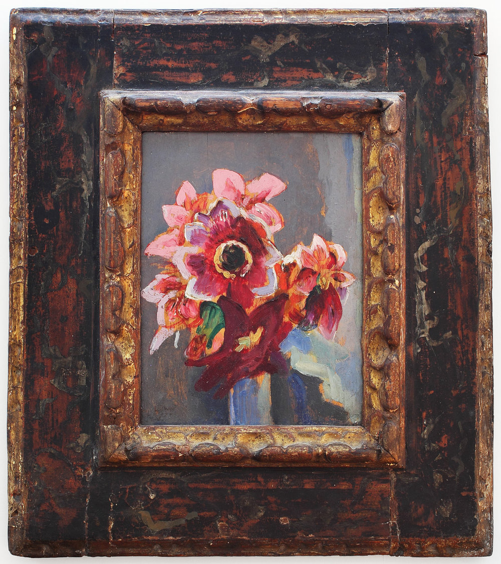 Untitled (Pink and Red Flowers)
