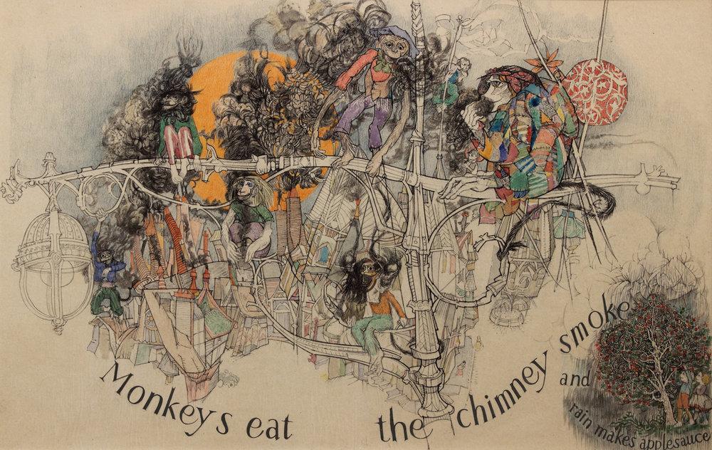 Rain Makes Applesauce (Monkeys eat the chimney smoke)