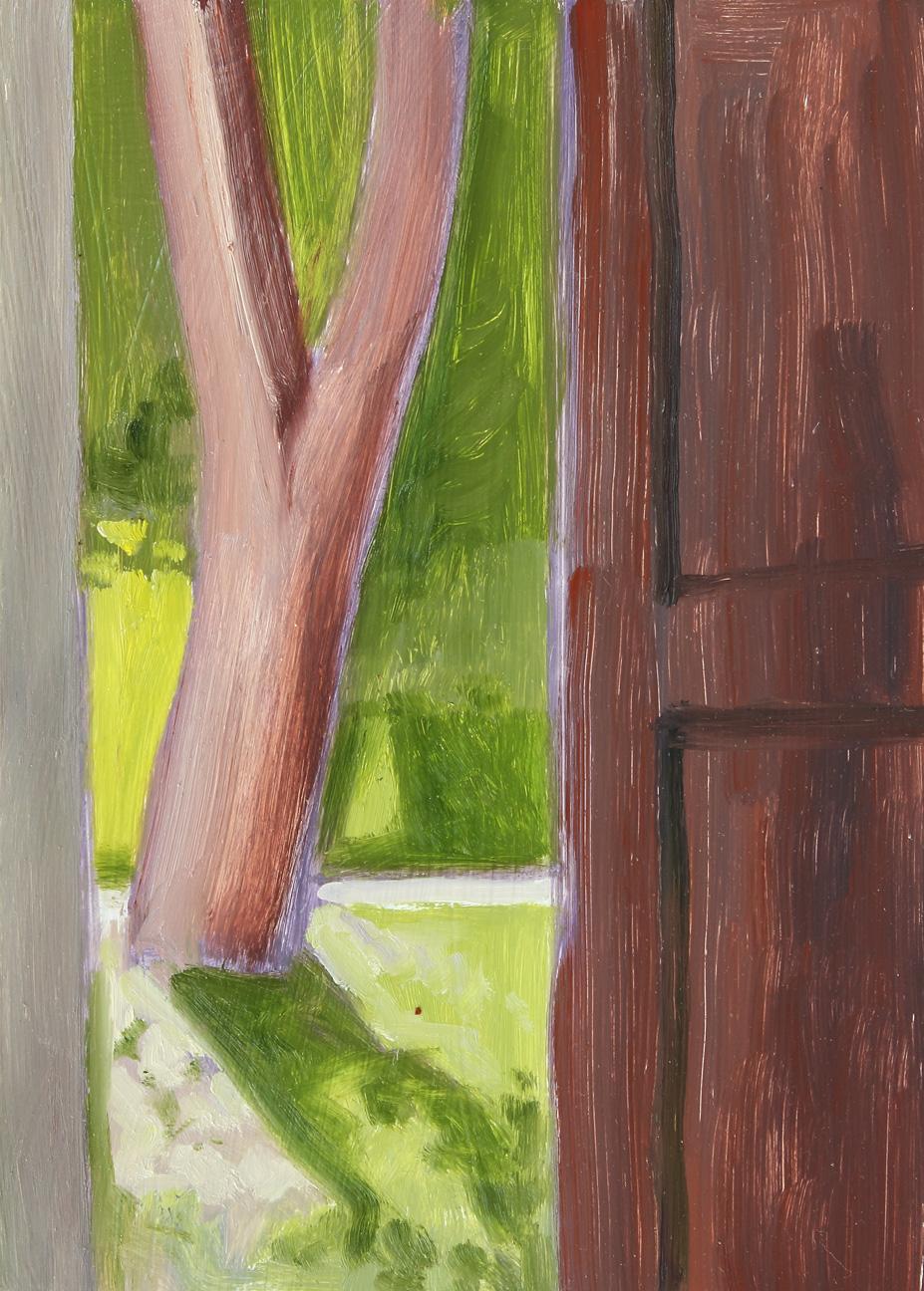 Barn Doorway View
