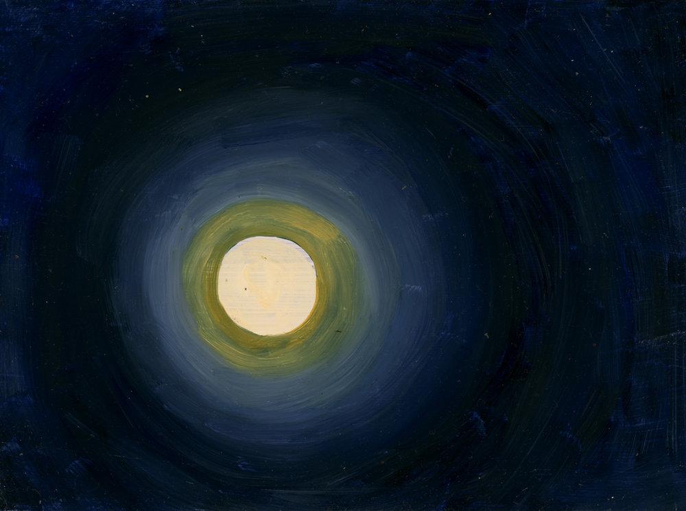 Full Moon with Aura