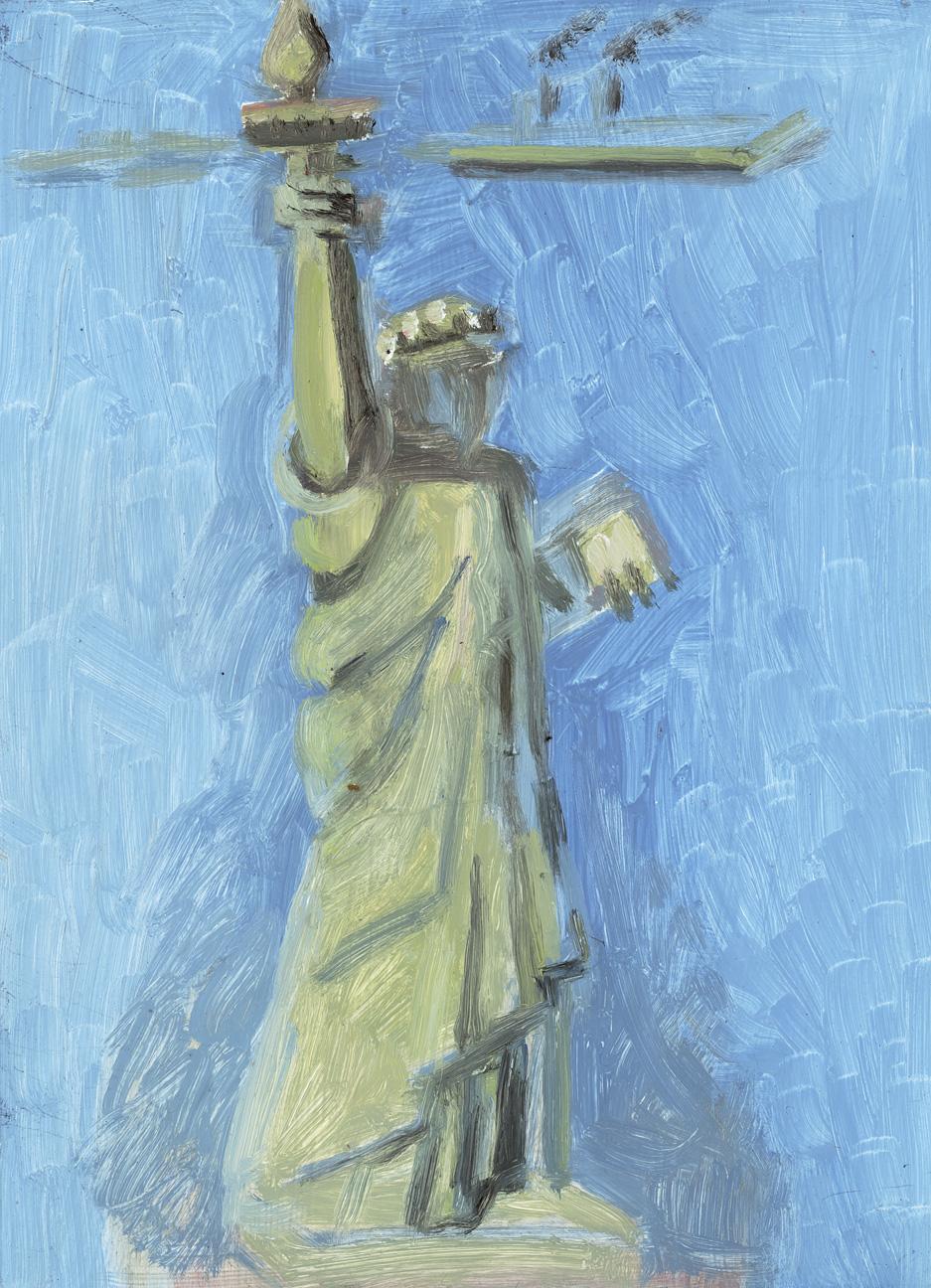 Statue of Liberty + Island