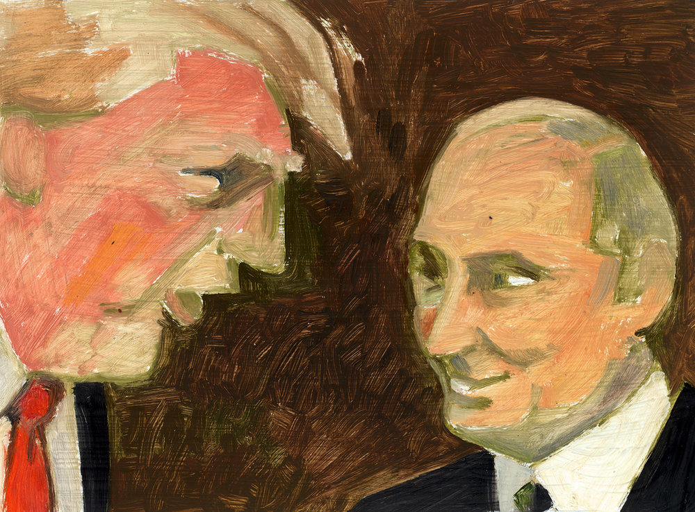 Donald Trump + Vladimir Putin