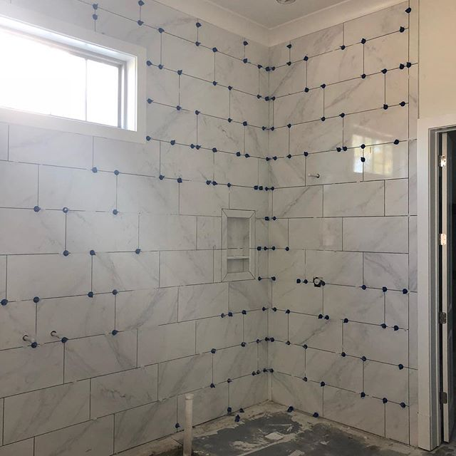 Wall to wall! Can't wait to see how this master bath turns out! #cagleyconstruction  #cagleycustomhomes