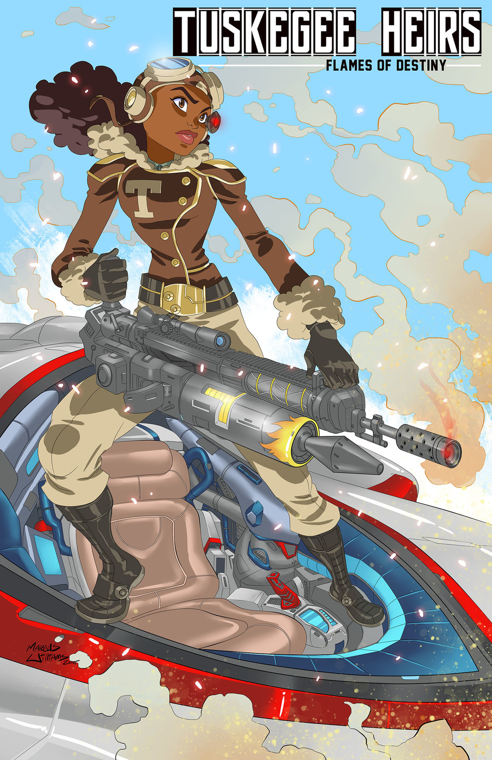 TUSKEGEE HEIRS character...