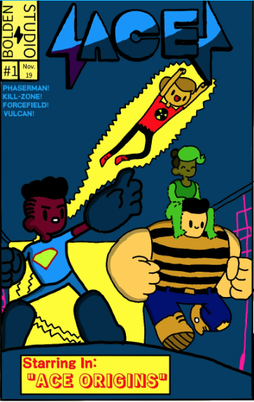 BOLDEN STUDIOS is back with unique youth Comics Fun at ONYXCON!