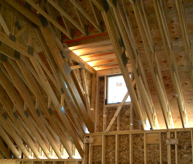 Complex and Technical Framing — Red Phoenix Construction