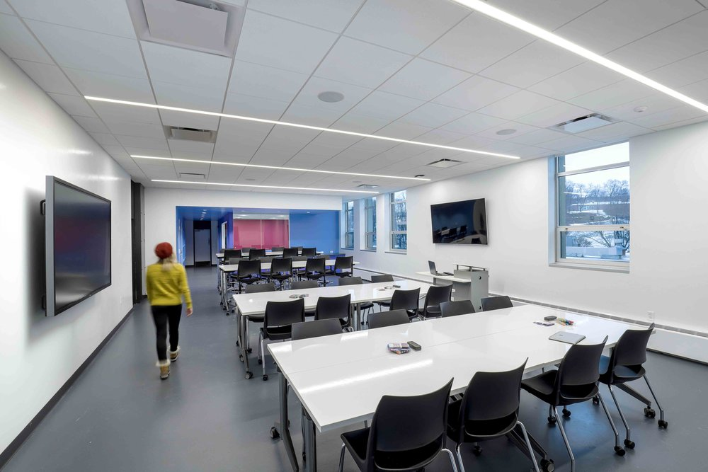 Penn State University, Greater Allegheny  Frable Active Learning Classroom