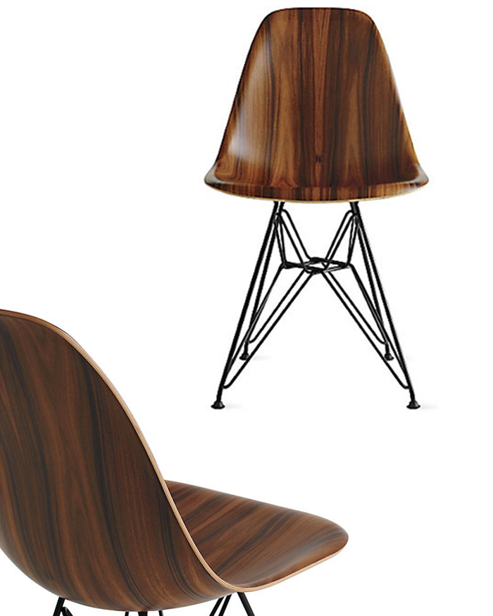 Inspired: 70 Years in the Making | Eames Molded Plywood Side Chair | CLOTH & KIND