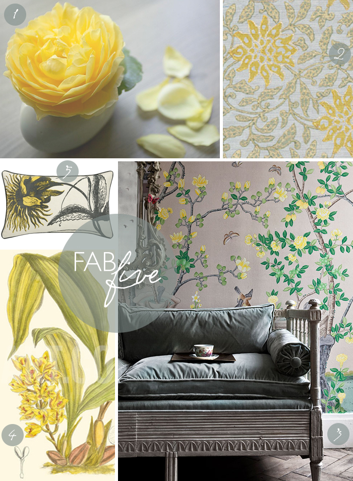 Fab Five: Golden Floral | CLOTH & KIND