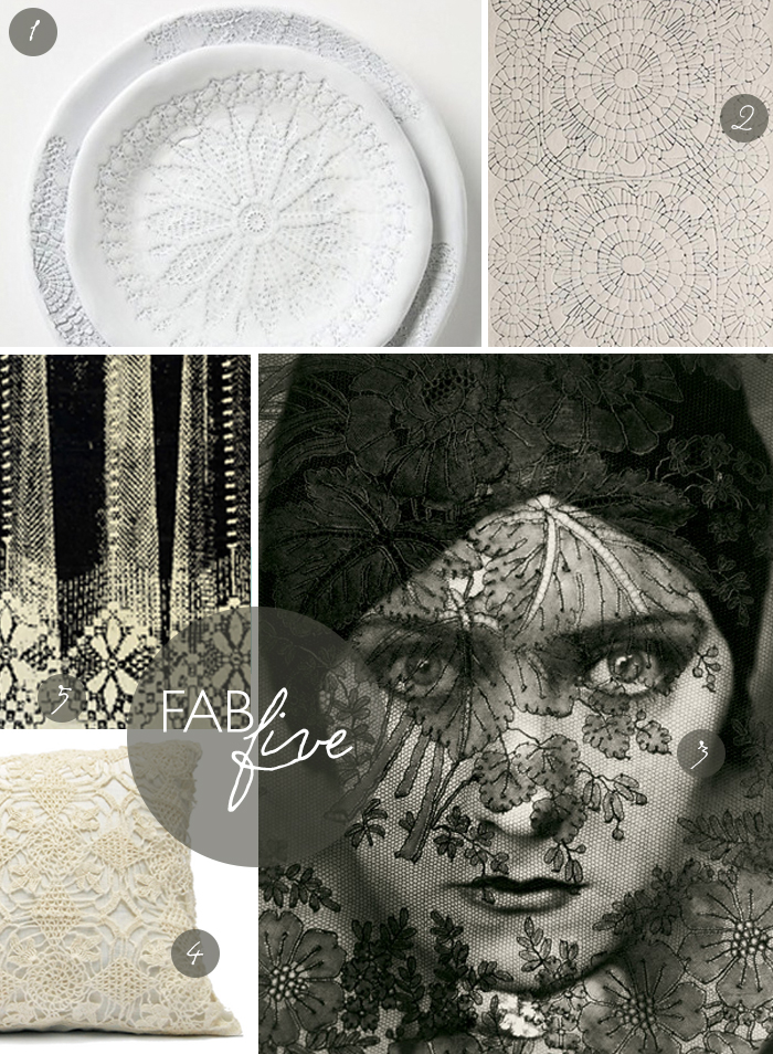 Fab Five: Lace | CLOTH & KIND