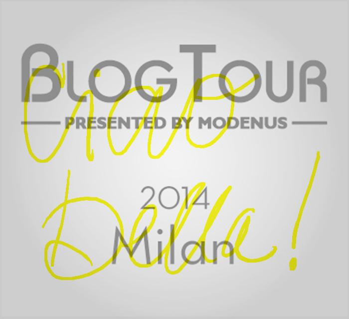BlogTour Milan: Ciao Bella