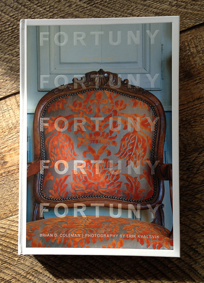 Good Reads: Fortuny Interiors | CLOTH & KIND