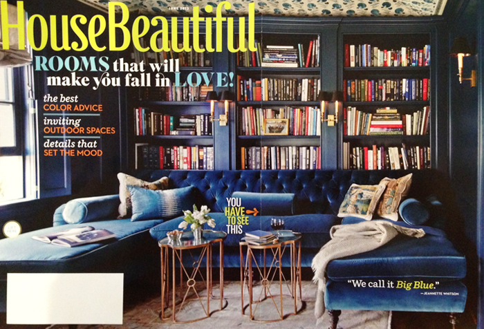 Press: House Beautiful, June 2013 | CLOTH & KIND