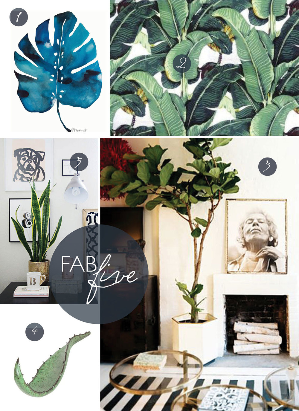 Fab Five: Home Grown // CLOTH & KIND
