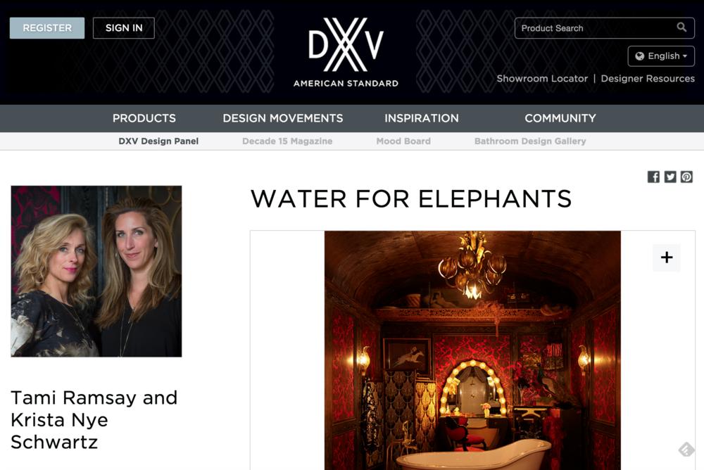 DXV // Design Panel