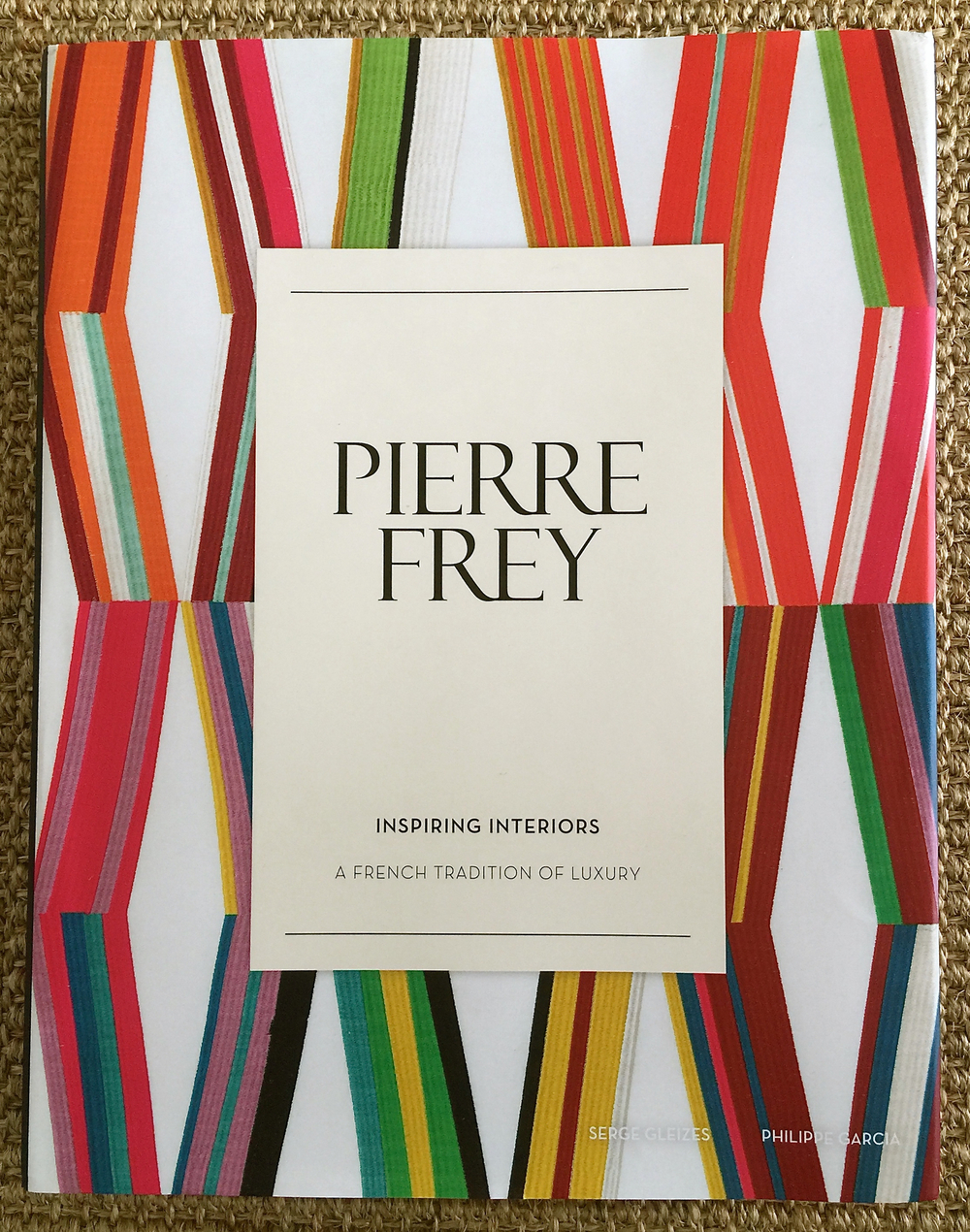 Good Reads: Pierre Frey Inspiring Interiors // by Contributing Editor Lynn Byrne on CLOTH & KIND