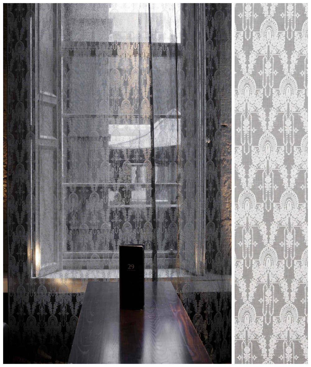 CLOTH & KIND // Provenance: Nottingham Lace and Madras by Contributing Editor, Lynn Byrne of Decor Arts Now