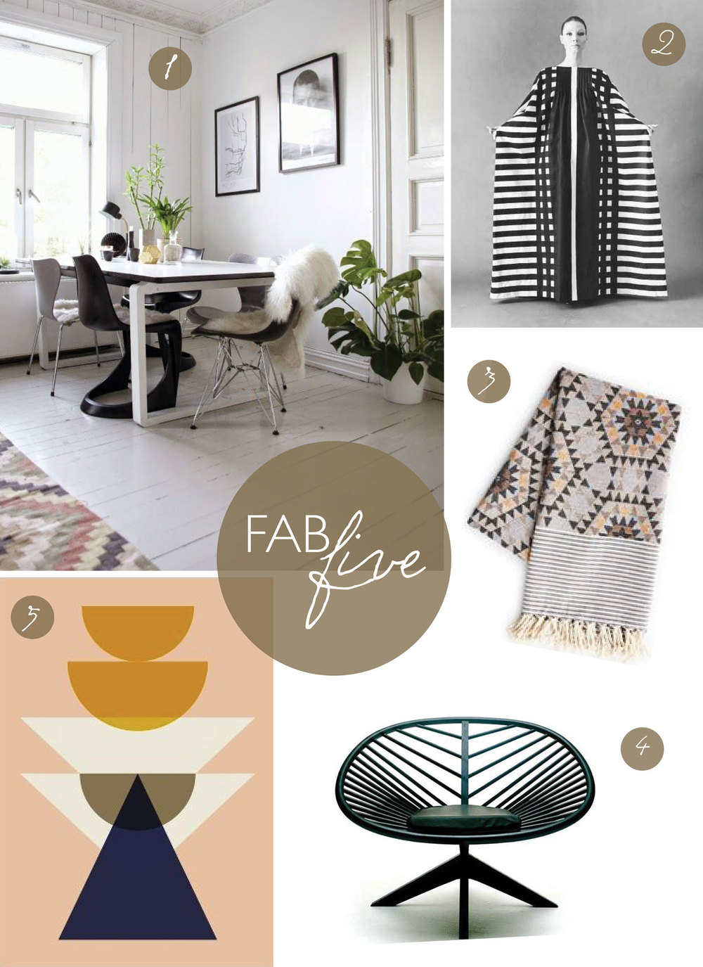 CLOTH & KIND // Fab Five: Scandinavian Love by Contributing Editor, Molly Velte