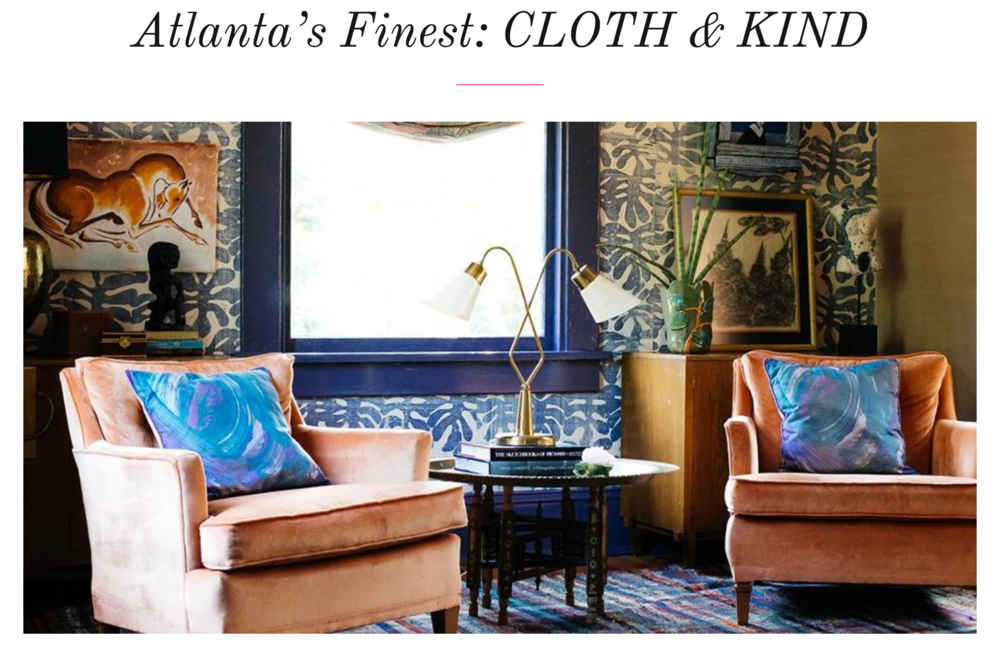 CLOTH & KIND Interiors // Chairish