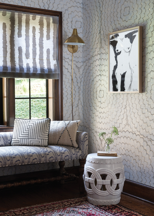 CLOTH & KIND Interiors // Ann Arbor Hills Tudor